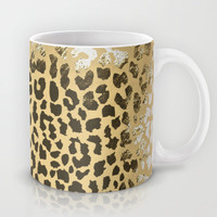 Golden Leopard Mug by M Studio
