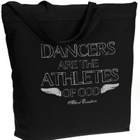 Athletes of God – Recycled Zipper Tote
