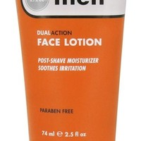 Zia Natural Skincare Mens DualAction Face Lotion 2.5 Oz.