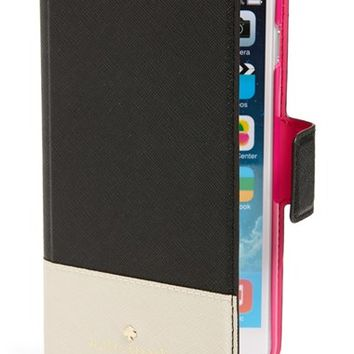 kate spade new york 'cedar street' iPhone 6 Plus folio case - Black