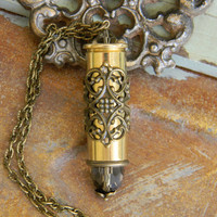 Bullet Necklace, Bullet Jewelry, Ammo Jewelry, Ammo Necklace, Outlaw Glam
