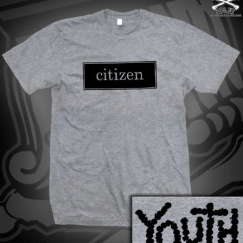 CIT YOUTH TEE ON HEATHER GREY