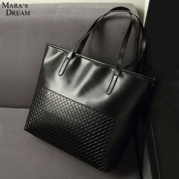 Mara's Dream knitting black medium handbags hotsale ladies party purse clutches vintage women high quality shoulder shopping bag
