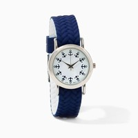 Amelia Anchor Reversible Watch | Watches – Nautical Chic | charming charlie