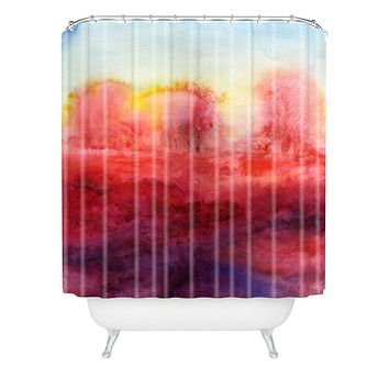 Jacqueline Maldonado Where I End Shower Curtain