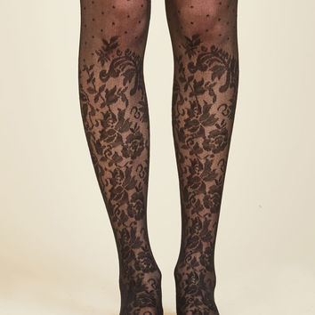 Motif Mastery Tights | Mod Retro Vintage Tights | ModCloth.com