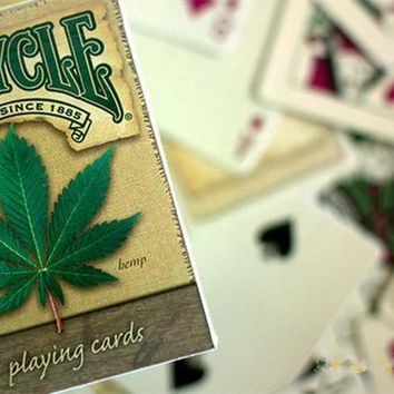 Limited Edition Cannabis Themed Bicycle Magic Playing Cards - CannaCards