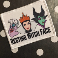 Resting Witch Face Patch