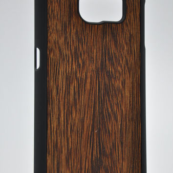 Sucupira wood - Samsung Galaxy S6 / S6 Edge Wood Cover - Unique wood case -FREE WORLDWIDE SHIPPING!Handmade in Europe!