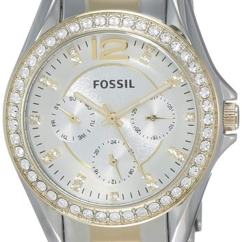 Fossil Women's Riley Quartz Chronograph Watch