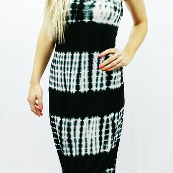 ECLECTIC ENERGY DRESS IN BLACK