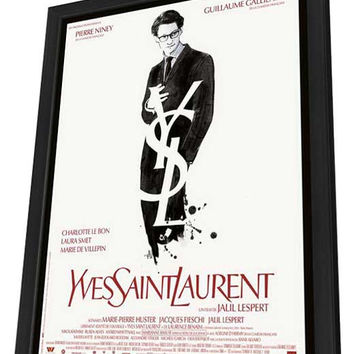 Yves Saint Laurent (French) 11x17 Framed Movie Poster (2014)