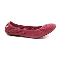 Hush Puppies Chaste Ballet Flats - Pink Suede
