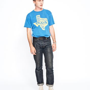 Texas Soul Men's Crew - Lapis Blue