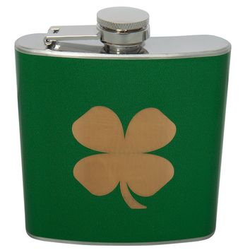 Shamrock 6 oz Flask