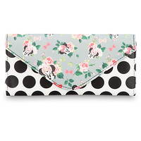 Minnie Mouse Floral Wallet