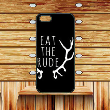 ipod 4 case,iphone 4 case,iphone 5 case,Eat the rude,iphone 5s case,iphone 5c case,ipod 5 case,htc one case,htc one m8 case,nexus 5 case,Q10