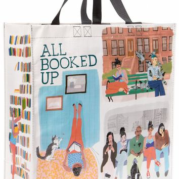 All Booked Up Shopper Tote Bag