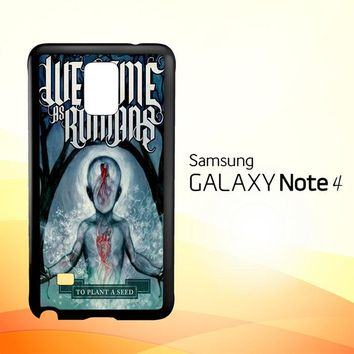 We Came As Romans cover Z1387  Samsung Galaxy Note 4 Case