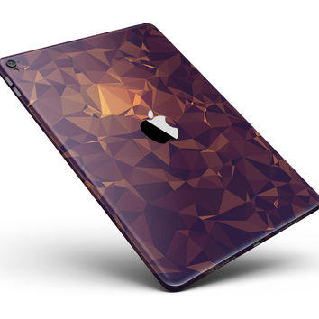 """Abstract Copper Geometric Shapes Full Body Skin for the iPad Pro (12.9"""" or 9.7"""" available)"""