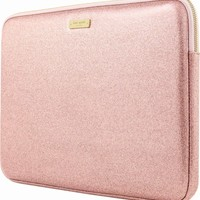 "kate spade new york - Glitter Sleeve for 13"" Apple® MacBook® - Rose Gold"