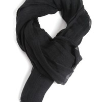 Linen fringed scarf YOHJI YAMAMOTO | Julian Fashion on line shop