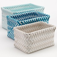 SONOMA life + style Shoreline 3-pc. Nesting Basket Set
