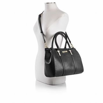 Kenneth Cole Reaction Harriet Triple Entry Satchel Black | Shoe Carnival