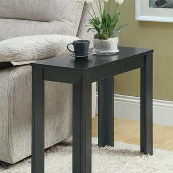 Black Oak Accent Side Table
