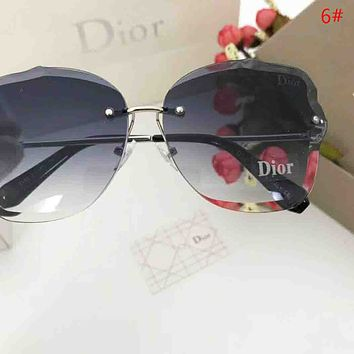 DIOR New Fashion Polarized More Color Women Sunscreen Casual Travel Glasses Eyeglasses