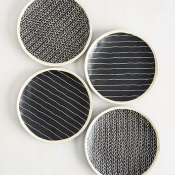 Vine and Dine Plate Set | Mod Retro Vintage Kitchen | ModCloth.com
