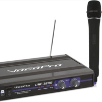 UHF-Dual Channel Wireless Microphone System, FREQUENCY SET: O, P, PII