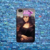 Funny Snooki Phone Case Cute Mona Lisa Meme Case iPhone iPod Fun Cover Cool