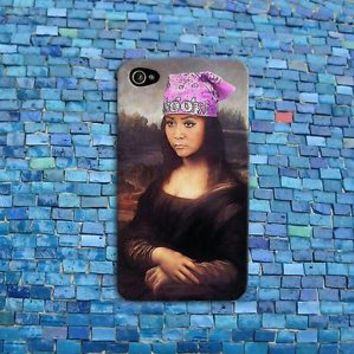 Funny Snooki Phone Case Cute Mona Lisa Meme Case iPhone 4 4s 5 5s 5c 6 Plus iPod