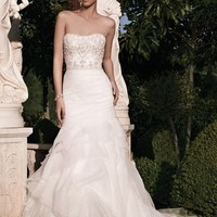 Casablanca Bridal 2133 Fit and Flare Wedding Dress