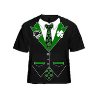 Irish Tuxedo - Formal Wear - St Patrick's Day - tee shirt
