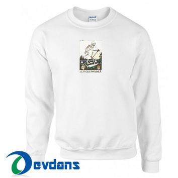Death Of Emotions Sweatshirt Unisex Adult Size S to 3XL