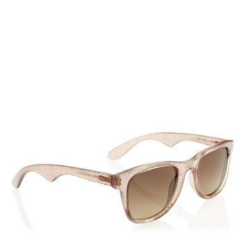 Gold Glitter Carrera 6000 | D Frame Sunglasses | Carrera | JIMMY CHOO Accessories