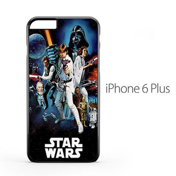 Star Wars Vintage Poster iPhone 6 Plus Case