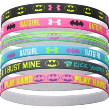 Under Armour Girls' Alter Ego Batgirl Graphic Mini Headbands