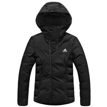 ADIDAS 2018 winter new casual outdoor sports women's down jacket Black