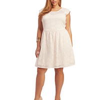 Lace Skater Dress | Wet Seal+