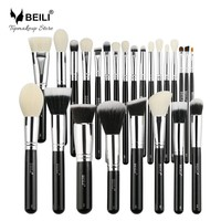 BEILI Complete Professional 25 pieces Foundation Powder Concealer Eyes hadow Makeup Brushes set