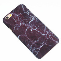 Fashion Marble Texture iPhone 7 7Plus & iPhone 6 6s Plus & iPhone 5s se Case Hard Cover +Gift Box