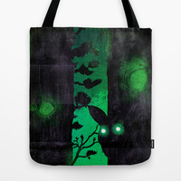 Something's Out There Tote Bag by Amelia Senville