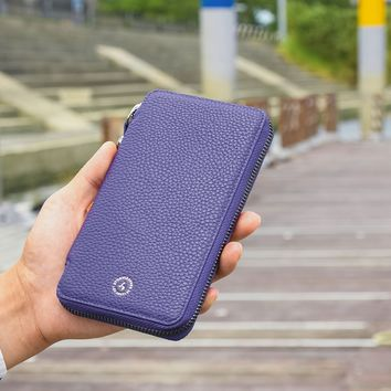 Dakota v3 Zipper Travel Wallet - Royal Purple