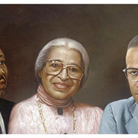 Martin Luther King Rosa Parks and Malcolm X