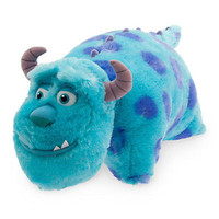 disney parks sulley reverse pillow pet plush new with tag
