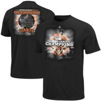 MLB San Francisco Giants 2012 World Series Champs Full Glory Roster T-Shirt, Black | deviazon.com