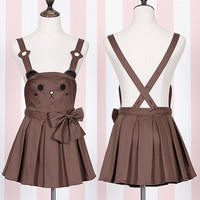 Japanese kawaii rabbit straps shorts/skirt SE5951